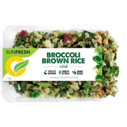 Photo of Sunfresh Sidekick Broccoli Brown Rice Salad 275g