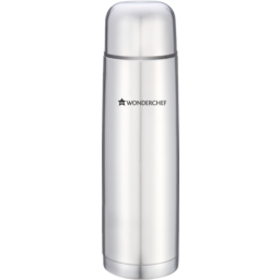 Photo of Wonderchef Hot Bot Stainless Steel Water Bottle Vacuum Flask, 1 Litre (Silver)