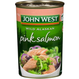 Photo of John West Pink Salmon (415g)