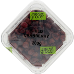 Photo of The Market Grocer Dried Cranberry 200gm