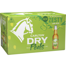 Photo of Carlton Dry Lime Peels Carton 4 X 6 X 330ml Bottle