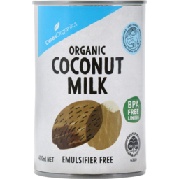 Photo of Ceres Organics Organic Coconut Milk 400ml