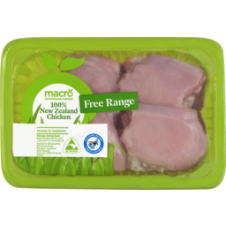 Photo of Macro Free Range Chicken Thigh Skinless