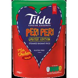 Photo of Tilda Peri Peri Steamed Basmati Rice 250g