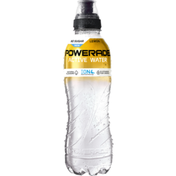 Photo of Powerade Active Water Lemon 600ml