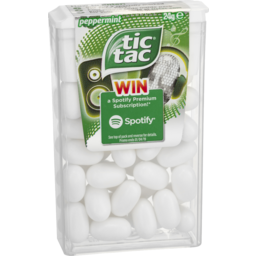 Photo of Tic Tac Peppermint Mints