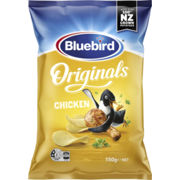 Photo of Bluebird Originals Potato Chips Chicken 150g
