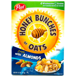 Photo of Post Honey Bunches Of Oats Crispy With Almonds Cereal
