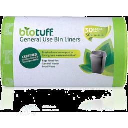 Photo of Biotuff Bin Liners - General Use (Large) 60L