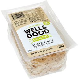 Photo of Well&Good Bakery Seeded Bread Gluten Free 290g
