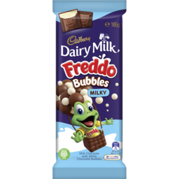 Photo of Cadbury Dairy Milk Freddo Bubbles Milky 165g