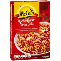 Photo of McCain Beef & Bacon Pasta Bake 400g