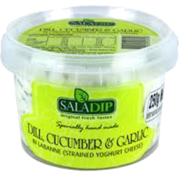 Photo of Saladip Dill, Cucumber & Garlic Dip 350gm