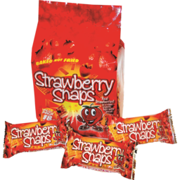 Photo of Strawberry Snaps Value Pack 18pk 252g