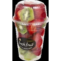 Photo of Ahold Fresh Fruit Strawberry Kiwi Cut Fruit