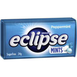 Photo of Eclipse Peppermint Mints 34g