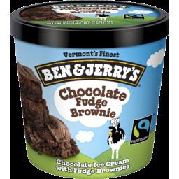 Photo of Ben & Jerry's Chocolate Fudge Brownie 120ml