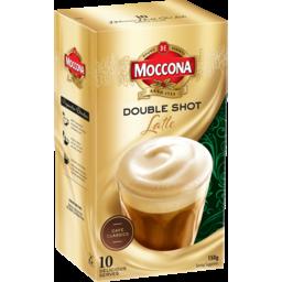 Photo of Moccona Coffee Double Shot Latte 10 Each