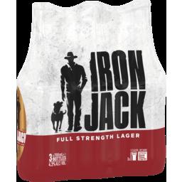 Photo of Iron Jack Full Strength Lager Bottles