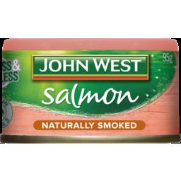 Photo of John West Salmon Naturally Smoked 95g 95g