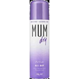 Photo of Mum Deodorant Dry Active 100gm