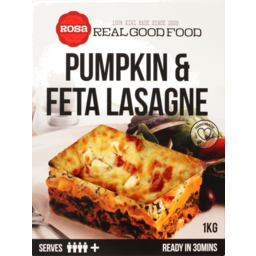Photo of Rosa Pumpkin And Feta Lasagne 1kg