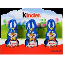 Photo of Kinder Chocolate Bunny 3x15g