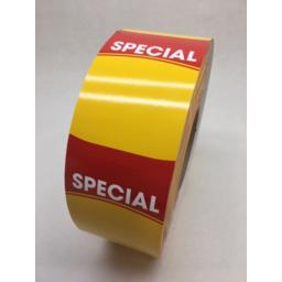 Photo of Shelf Talker, Supermarket, Special (Suit Tec B-Sx4, & B-Sa4)