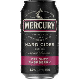 Photo of Mercury Hard Cider Raspberry Can