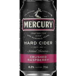 Photo of Mercury Hard Cider Raspberry Can
