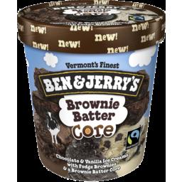 Photo of Ben & Jerry's Ice Cream Brownie Batter 458ml
