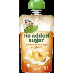 Photo of Rafferty's Garden No Added Sugar Peach & Mango Yoghurt 70g