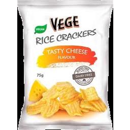 Photo of Vege Rice Crackers Tasty Cheese 75g