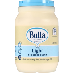 Photo of Bulla Cream Thickened Light 300ml