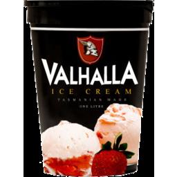 Photo of Valhalla Ice Cream Strawberry 1L