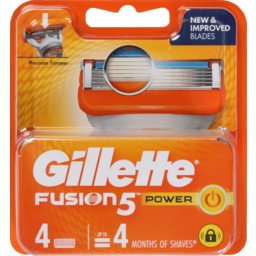 Photo of Gillette Fusion Power Blades 4pk