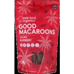 Photo of Littlebird Macaroons Cacao & Raspberry 125g