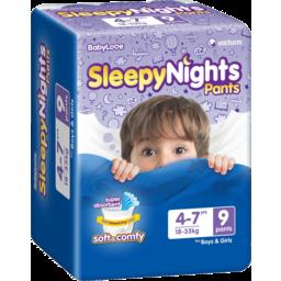 Photo of Babylove Sleepynights 4-7yrs 9pk