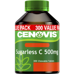 Photo of Cenovis Sugarless C 500mg 300 Chewable Tablets