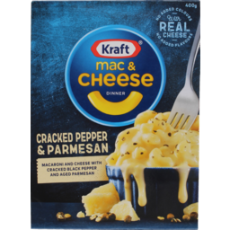 Photo of Kraft Mac And Cheese Frozen Meals Cracked Pepper And Parmesan 400g 400g