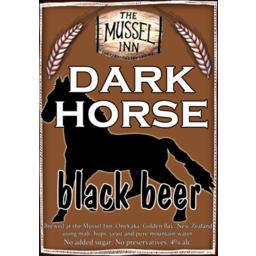 Photo of Mussel Inn Dark Horse 4 x 330ml