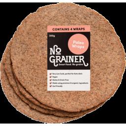 Photo of No Grainer Wraps Paleo Gluten Free 300g