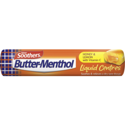 Photo of Soothers Butter-Menthol Liquid Centres Honey & Lemon