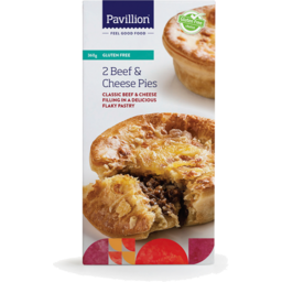 Photo of Pavillion Foods Gluten Free Pies  Beef & Cheese 2 Pack
