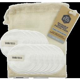 Photo of EverEco Bamboo Facial Pads (Reusable) - WHITE