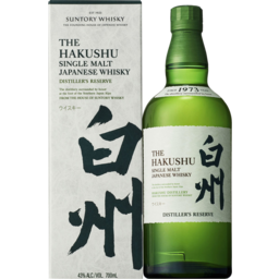 Photo of Hakushu Distiller's Reserve Single Malt Whisky