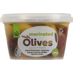 Photo of WW Olives Marinated Selection 200g
