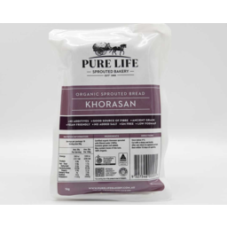 Photo of Pure Life - Sprouted Bread - Khorasan - 1.1g