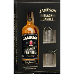 Photo of Jameson Black Barrel 2 Glass Pack