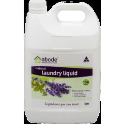 Photo of Abode Laundry Liquid - Lavender & Mint 5l